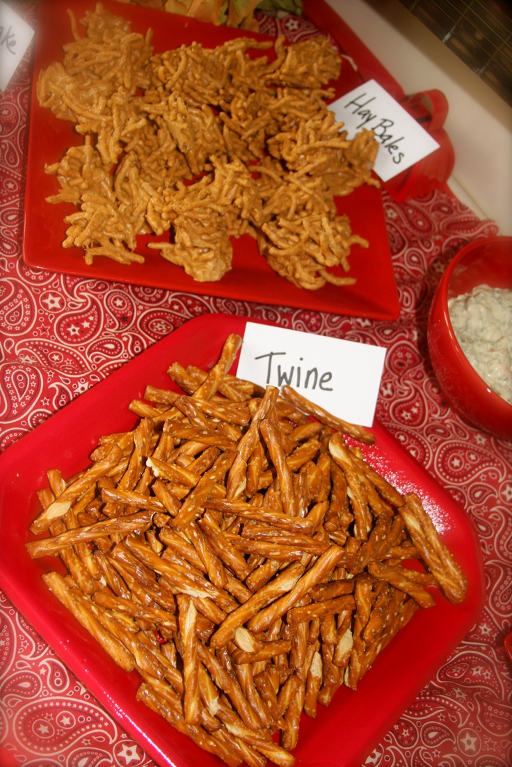Cowboy party food ideas - This Was For Jude S 3rd Birthday A Cowboy Themed Party Could Also Be