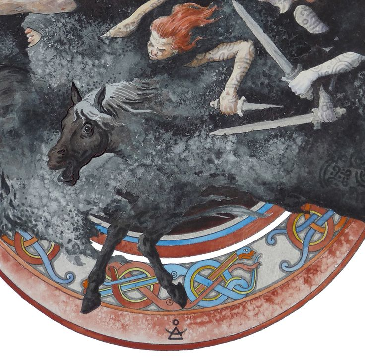 Dmitrij Ilyutkin | Nine black horsewomen 4