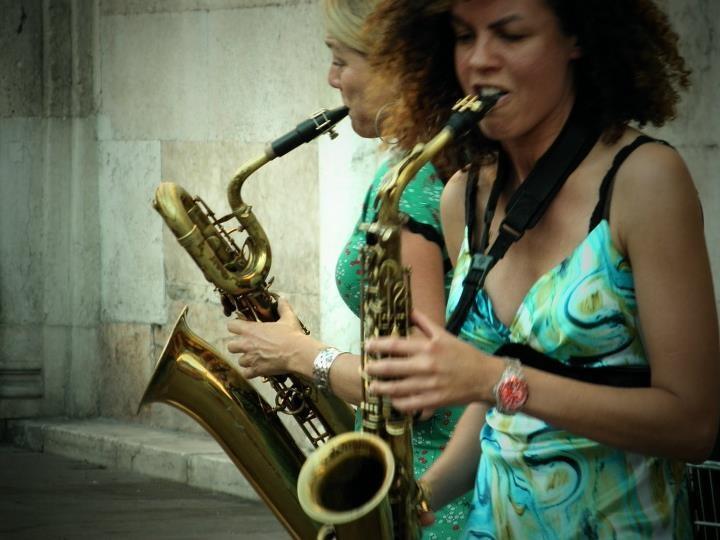 Buskers Festival in Ferrara - Italy
