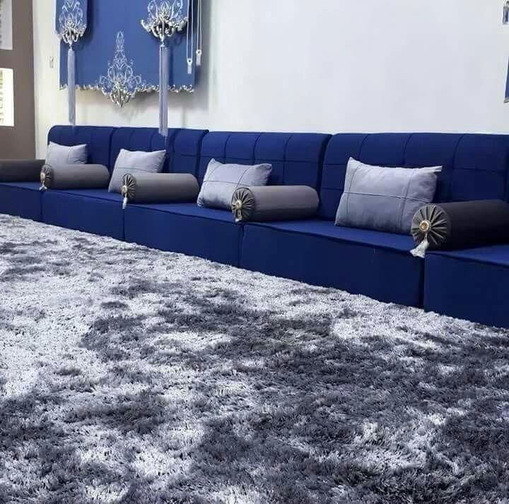 ارقى الموديلات لصلونات عربية فخمة صالونات ارضية رائعة و انيقة مستوحات من ديكور ص Decor Home Living Room Living Room Decor Curtains Luxury Living Room Design