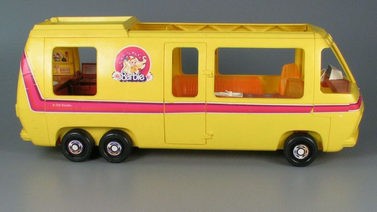 Barbie Star Traveler When She Wanted To Take A Vacation Away From Her Cardboard Condo The