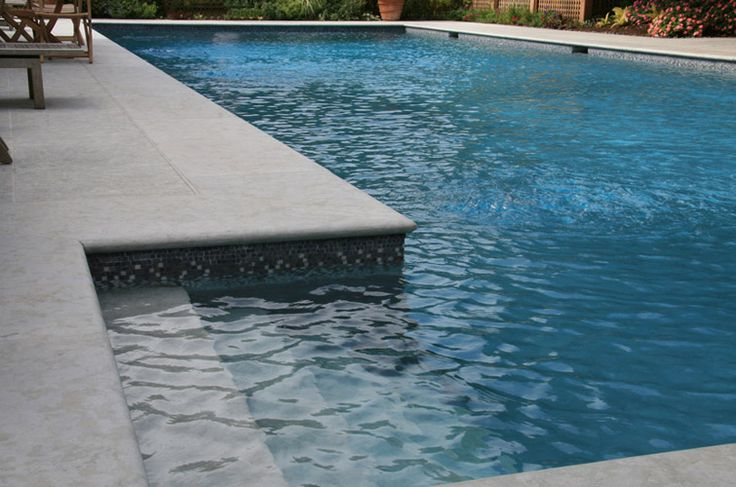 Image result for white pool grey pavers