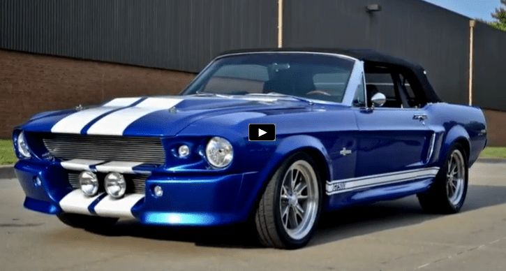 Front to back and top to bottom this Convertible 1967 Mustang Shelby GT500 is built with a lot of attention to detail and fitted with a 500 horsepower V8 motor!