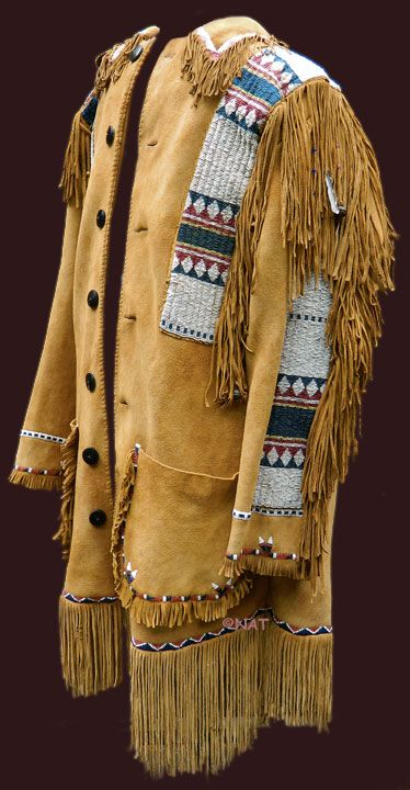 THE LEGACY OF THE NORTH AMERICAN INDIAN: Native American Clothing (Plains Beaded Jacket / Frock Coat)