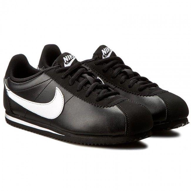 Pantofi NIKE - Cortez (GS) 749482 001 Black/White