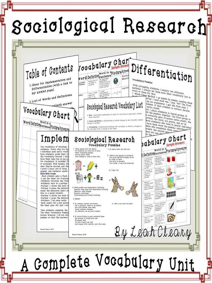Worksheets For Sociology : Sociology worksheets for high school students