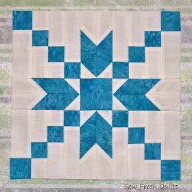 Today I am sharing a tutorial for the Stepping Stones quilt block designed in EQ7. I next had to decide on a positive or negative setting...
