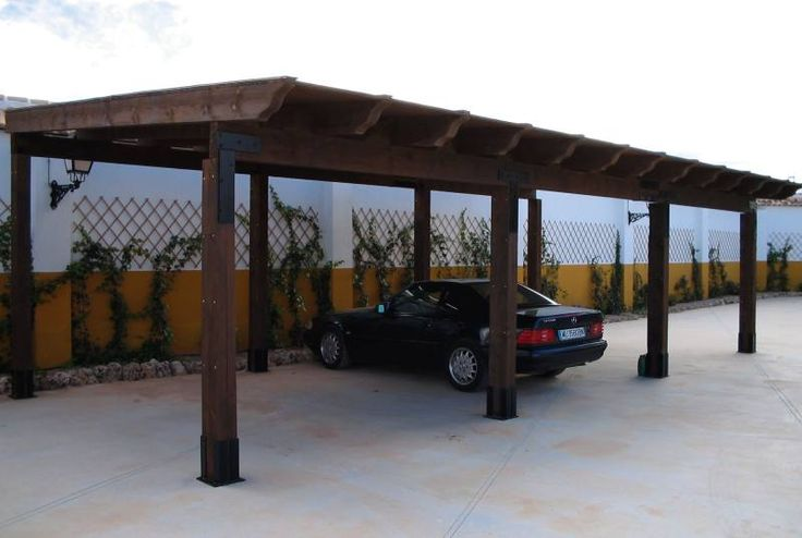 Wood Carports Designs: Build The Best for Your Car | Indebleu.