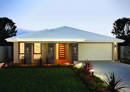 Killara 23 // Single storey home design complete with four generous sized bedrooms and multiple separate living zones