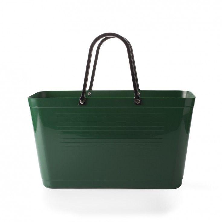 Väska Hinza Green Plastic mörkgrön