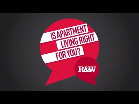 Is Apartment Living Right For You? - YouTube