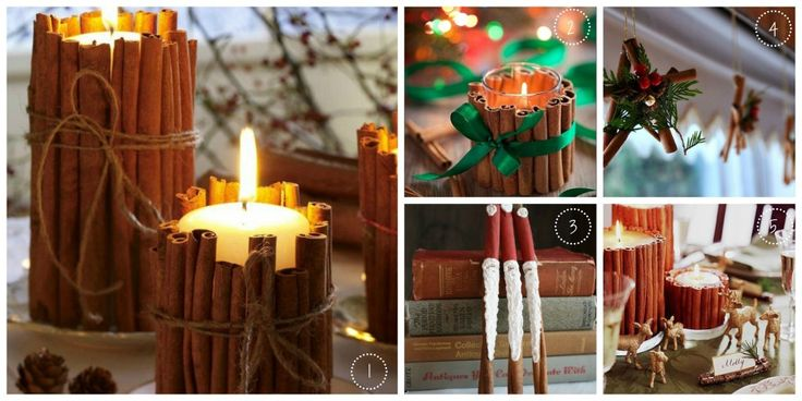 Cinnamon Sticks and Christmas Craft - some of my favourites x