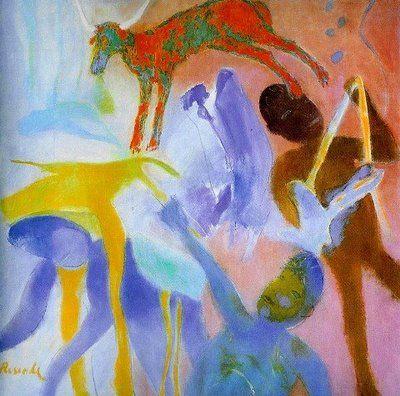 Júlio Resende - pintor português.  Estudou na Escola Superior de Belas Artes do Porto, onde posteriormente foi professor.