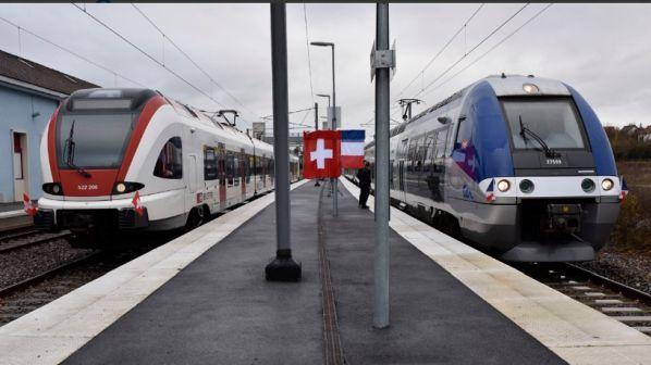 Rendered Belfort Delle Reopening Train Pictures Swiss Cross