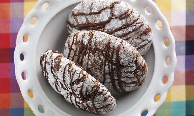 Biscuits à l'Ovo: Pâte: mélanger les œufs et le sucre jusqu'à l'obtention d'une masse claire et mousseuse (4-5 min). Incorporer l'Ovomaltine en poudre et ...