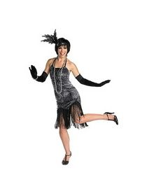 DISGUISE DI50002 Womens Flirty Flapper Outfit