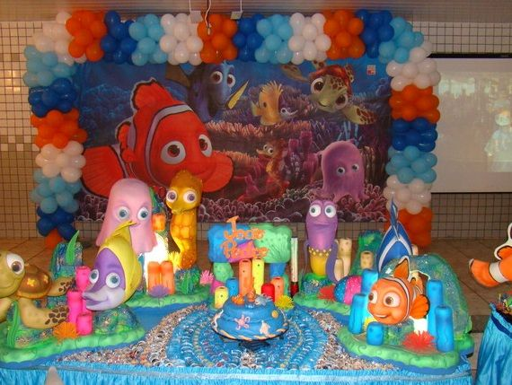 109 best images about nemo party on pinterest 3d poster for Nemo decorations