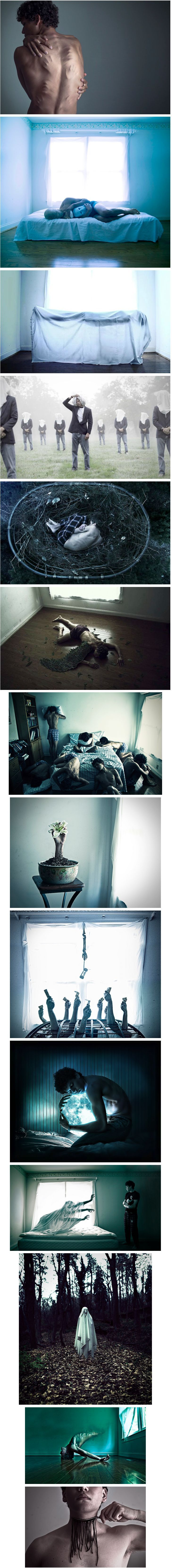 24 Haunting Photos Show What Depression Really Feels Like. Photo's by Christian Hopkins
