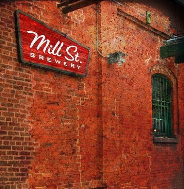 Mill Street Brewery, Toronto. Old fashioned charm in the heart of downtown.