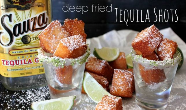 Deep fried tequila is a thing and you can make it at home really easily