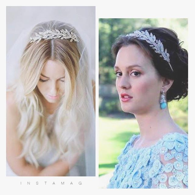 先ほどご紹介したジェニファーベアのヘッドドレス。リーフモチーフのヘッドバンドは彼女達もつけています(型は違います)gossip girlのブレア、リアリティ番組から一躍有名になったローレンコンラッド。素敵ですね✨こちらもら3月以降からレンタル予定です。 * #gossipgirl #ゴシップガール #ブレア #ブライダルアクセサリーレンタル  #ヘッドドレス #ヘッドドレスレンタル #プレ花嫁 #日本中のプレ花嫁さんと繋がりたい #thetreatdressing #トリートドレッシング #jenniferbehr #ウェディング #ウェディングドレス #ウェディングヘア #ウェディング小物 #ブライダル #ブライダルヘア #ブライダルヘアメイク #ブライダルブーケ #ブライダルアクセ #jennypackham #レンタル #レンタルブーケ #レンタル #ジェニーパッカム #ジェニファーベア #ジェニーパッカムレンタル #ジェニファーベアレンタル #花嫁ヘア #花嫁髪型 #花嫁ヘアメイク