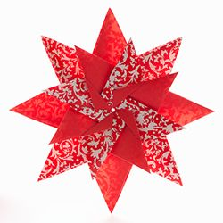 Tutorial on how to make a stunning origami star!