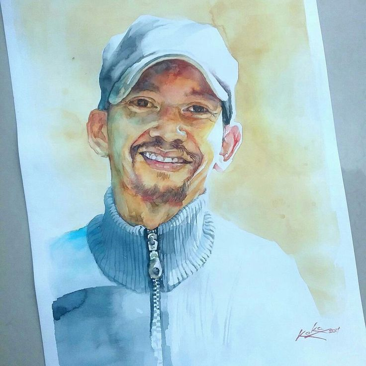 #paint #watercolor @kokoponiman 2017