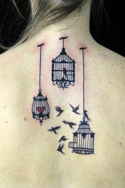 Gaiolas by Junnio Nunes by omoko tatuagem e piercing, via Flickr