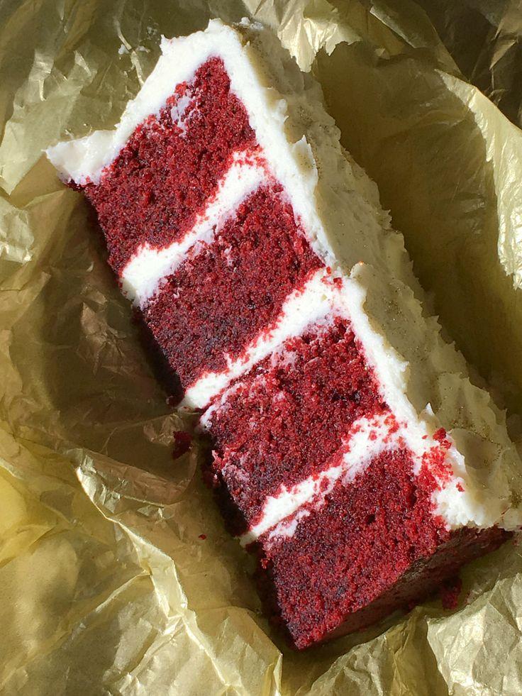 Receta en español de la red velvet cake