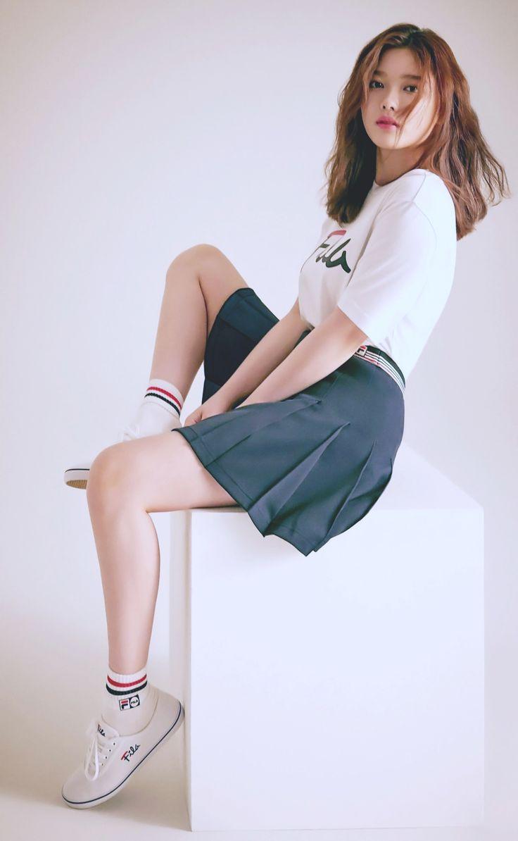 FILA Classic x Kim Yoo Jung - 김유정' Collection 16/06/2017.
