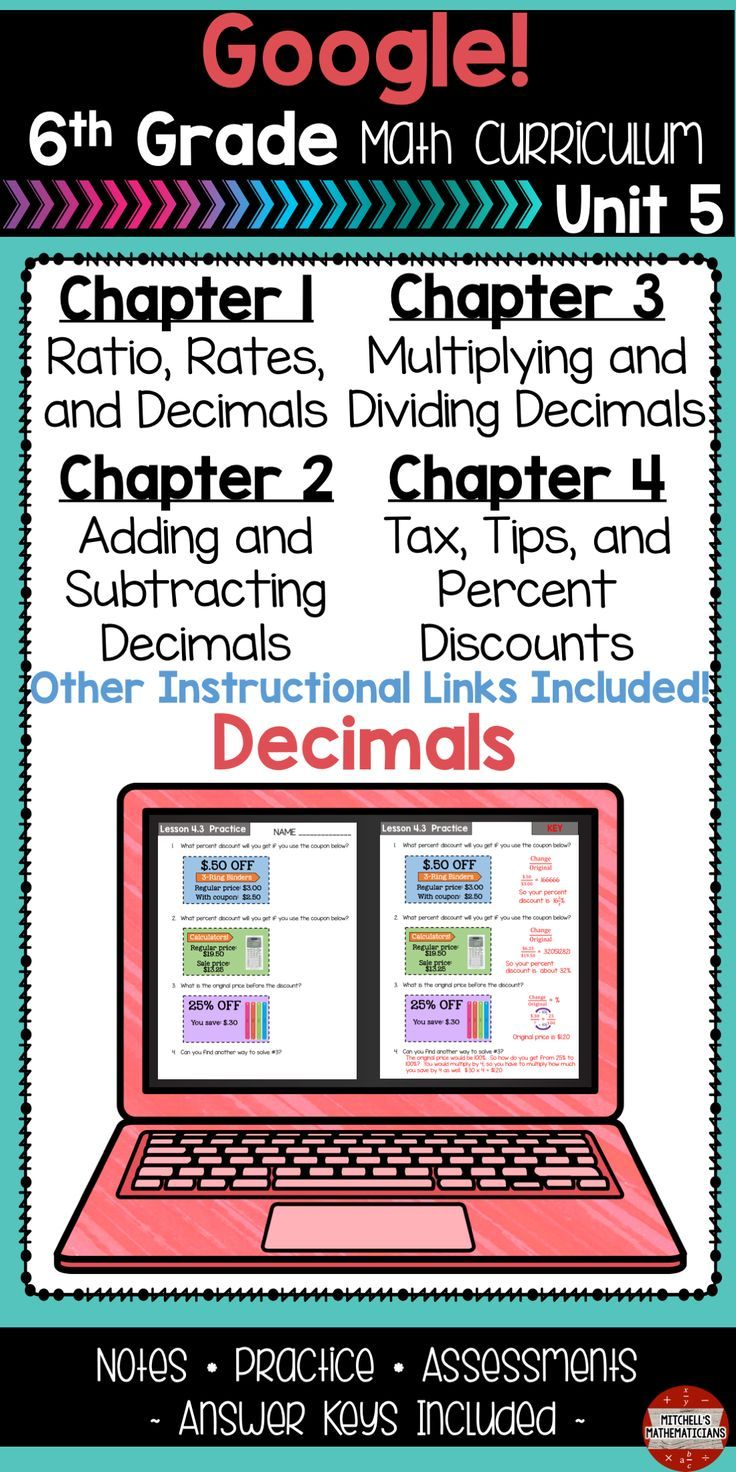 In This No Prep Google Drive Product You Get An Entire Unit That Covers Decimals Estimating Decimals Word Problems Involving D Decimals Math Math Curriculum Solve addition equations with decimals