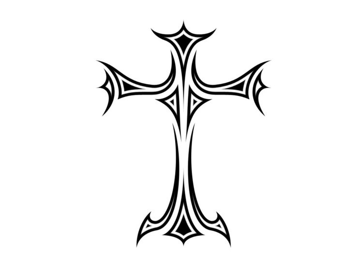 Tribal Tattoos Crosses Designs - ClipArt Best - ClipArt Best