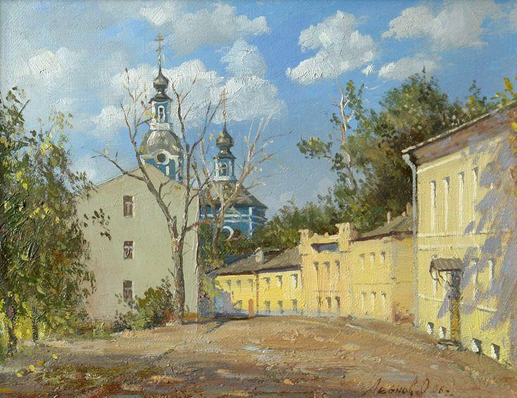 Oleg Leonov - Moscow, Serebryanichesky Lane