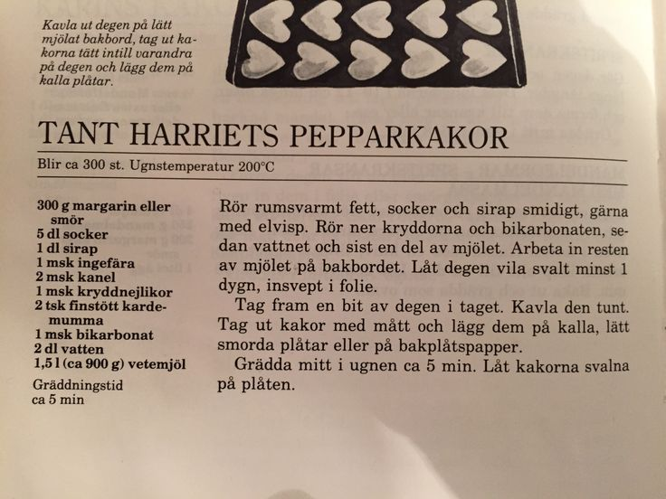 Tant Harriets pepparkakor