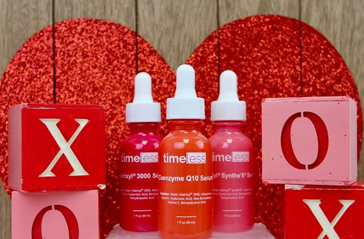 Love Is In The Air In 2020 Timeless Skin Care Organic Anti Aging Paraben Free Products