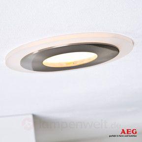 3er Set LED-Einbauspots Orbita deco von AEG