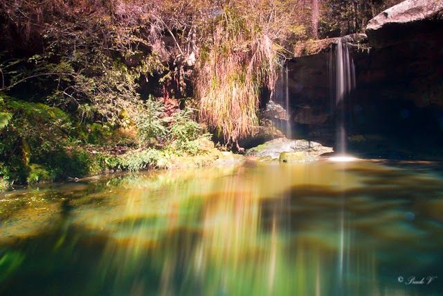 See the world through my eyes..: Waterfall from The Great North Walk - captured using ND filters