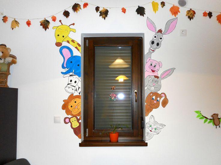 Őszi dekoráció és a napközi legújabb lakói. Nektek hogy tetszik?  Autumn decoration and the new guests! How do you like it?