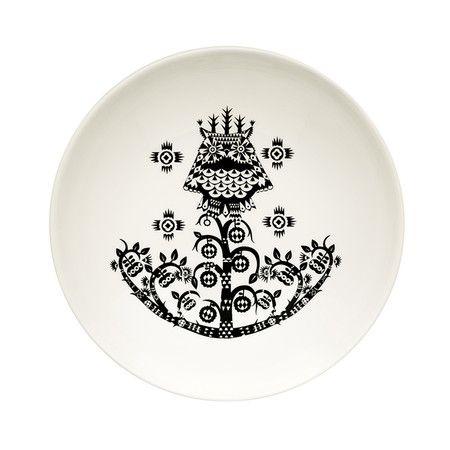 Iittala - Taika Soup Plate - Black
