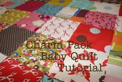 Charm-pack baby quilt tutorialCharm Pack, Charmpack, Baby Quilt Pattern, Baby Quilt Tutorials, Baby Quilts, Charms Pack Quilt, Charms Quilt, Quilt Blog, Pack Baby
