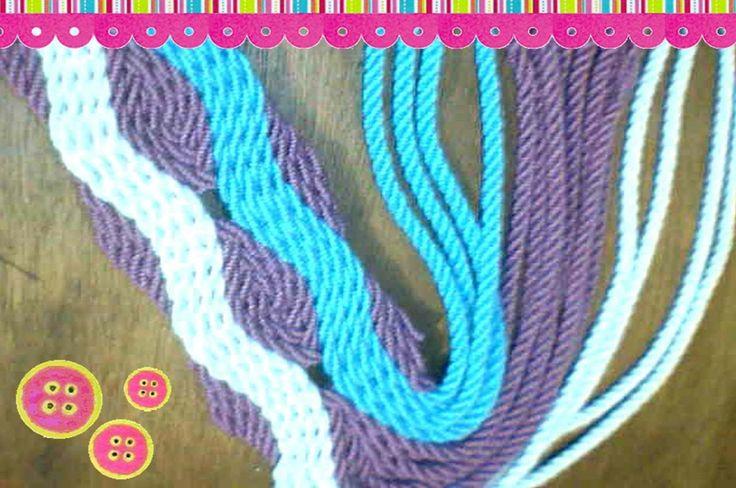 Como hacer gasa tipo Wayuu - YouTube