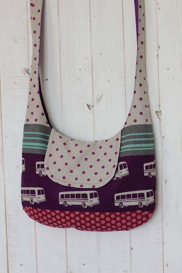 no 175 The Sadie Crossbag | by i think sew 1