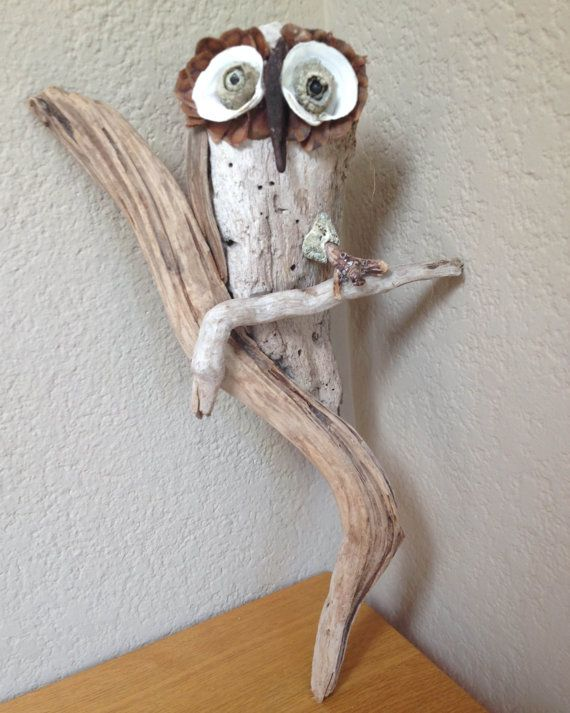 Hey, I found this really awesome Etsy listing at https://www.etsy.com/listing/201414283/driftwood-owl-wall-or-table-sculpture