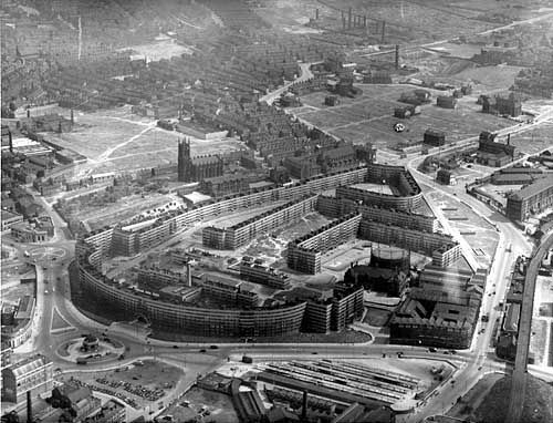 Aerial View Quarry Hill Flats Leeds This Photo Captures