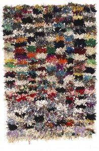 Carpet, 3rd third 20. century, El Hajeb (provincial town), Morroco, ex collection Jürgen Adam, Munich, Germany