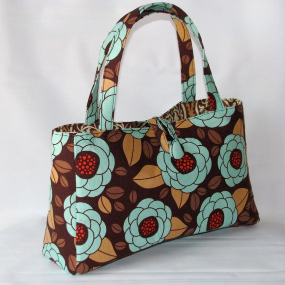 New In town tote bag Bloom in Bark Joel Dewberry by paocollection, $27.00