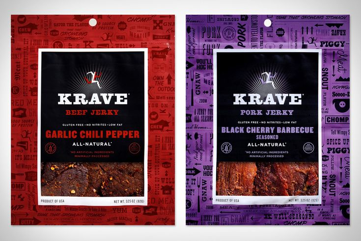 Krave Jerky (it's good, i've had it before, not these flavors shown but i want to)