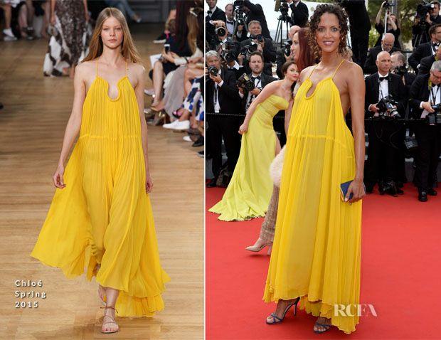 Noemie Lenoir In Chloé - 'La Tete Haute' Cannes Film Festival Premiere & Opening Ceremony