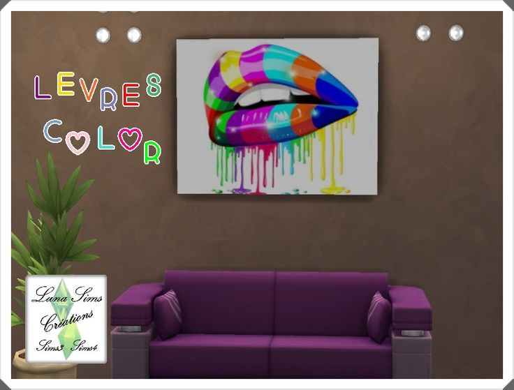 36 best images about tableaux stickers murs sims4 on for Stickers murs deco
