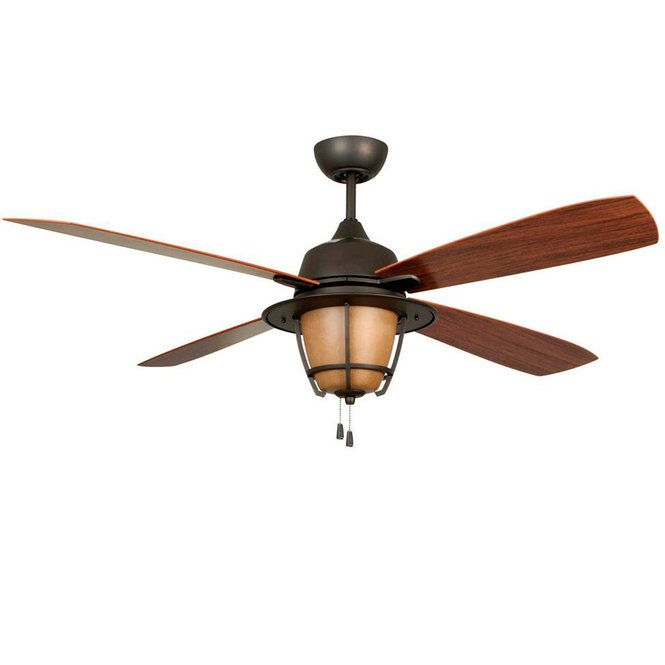 56 Indoor Outdoor Mission Lodge Ceiling Fan